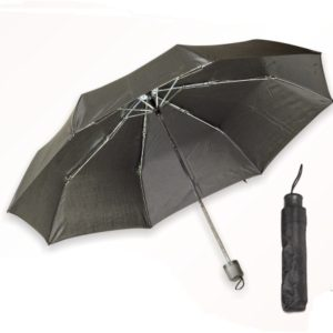 Ομπρέλα Σπαστή Μαύρη