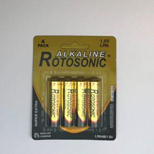 Μπαταρία Αλκαλική Rotosonic ΑΑ, LR6 1.5V