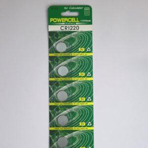 Μπαταρία Αλκαλική CR1220 3V