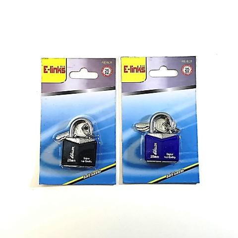 Λουκέτο Μεταλλικό Με Κλειδί 1467 25mm